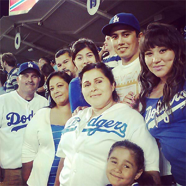 Show us your Dodger love! Post your fan photos on our ABC7 Facebook page, and you might be featured on-air. You can also send us your photos on Twitter or Instagram with #abc7dodgers. LET&#39;S GO DODGERS! <span class=meta>(KABC Photo &#47; Instagram.com&#47;ositamarie)</span>