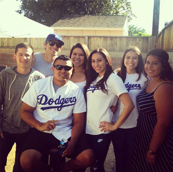 "<div class=""meta ""><span class=""caption-text "">Show us your Dodger love! Post your fan photos on our ABC7 Facebook page, and you might be featured on-air. You can also send us your photos on Twitter or Instagram with #abc7dodgers. LET'S GO DODGERS! (KABC Photo / Instagram.com/sassy_sava)</span></div>"
