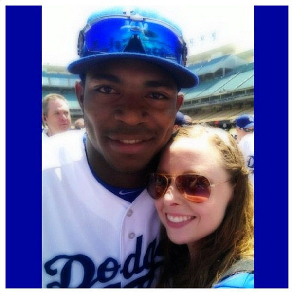 Show us your Dodger love! Post your fan photos on our ABC7 Facebook page, and you might be featured on-air. You can also send us your photos on Twitter or Instagram with #abc7dodgers. LET&#39;S GO DODGERS! <span class=meta>(KABC Photo &#47; Instagram.com&#47;upsgirly)</span>
