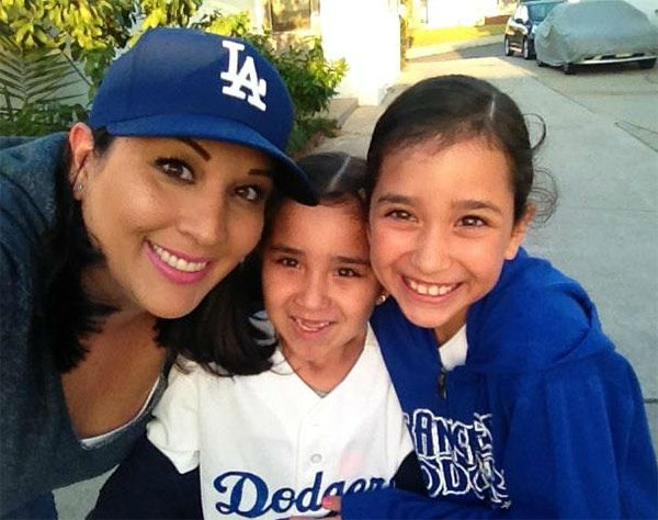 Show us your Dodger love! Post your fan photos on our ABC7 Facebook page, and you might be featured on-air. You can also send us your photos on Twitter or Instagram with #abc7dodgers. LET&#39;S GO DODGERS! <span class=meta>(KABC Photo &#47; Lily Perez)</span>