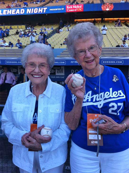 Show us your Dodger love! Post your fan photos on our ABC7 Facebook page, and you might be featured on-air. You can also send us your photos on Twitter or Instagram with #abc7dodgers. LET&#39;S GO DODGERS! <span class=meta>(KABC Photo &#47; Linda McKee Palacios)</span>