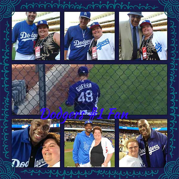 Show us your Dodger love! Post your fan photos on our ABC7 Facebook page, and you might be featured on-air. You can also send us your photos on Twitter or Instagram with #abc7dodgers. LET&#39;S GO DODGERS! <span class=meta>(KABC Photo &#47; Lucinda Marie)</span>