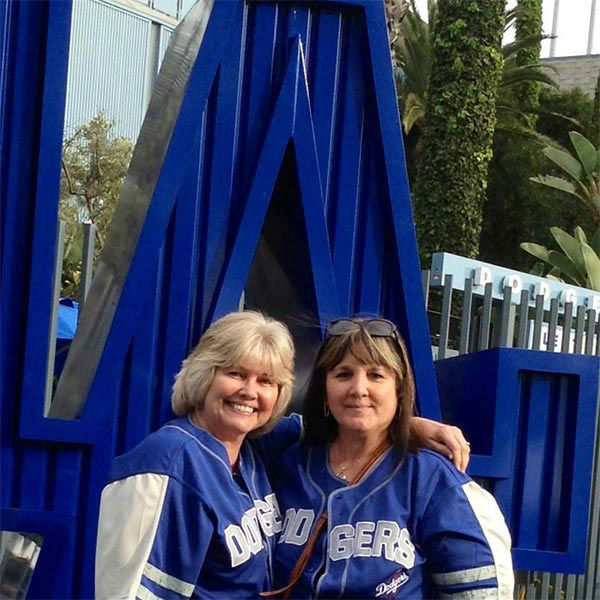 Show us your Dodger love! Post your fan photos on our ABC7 Facebook page, and you might be featured on-air. You can also send us your photos on Twitter or Instagram with #abc7dodgers. LET&#39;S GO DODGERS! <span class=meta>(KABC Photo &#47; Marilyn Montoya Horsley)</span>