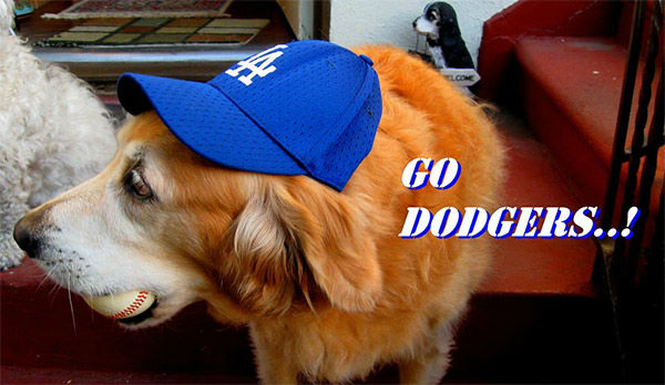 Show us your Dodger love! Post your fan photos on our ABC7 Facebook page, and you might be featured on-air. You can also send us your photos on Twitter or Instagram with #abc7dodgers. LET&#39;S GO DODGERS! <span class=meta>(KABC Photo &#47; Nain Artjoy)</span>