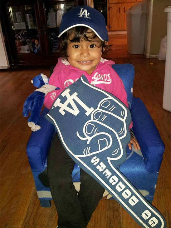 "<div class=""meta ""><span class=""caption-text "">Show us your Dodger love! Post your fan photos on our ABC7 Facebook page, and you might be featured on-air. You can also send us your photos on Twitter or Instagram with #abc7dodgers. LET'S GO DODGERS! (KABC Photo / Sammie Zuniga)</span></div>"