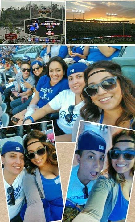 "<div class=""meta ""><span class=""caption-text "">Show us your Dodger love! Post your fan photos on our ABC7 Facebook page, and you might be featured on-air. You can also send us your photos on Twitter or Instagram with #abc7dodgers. LET'S GO DODGERS! (KABC Photo / Theresa Sanchez)</span></div>"