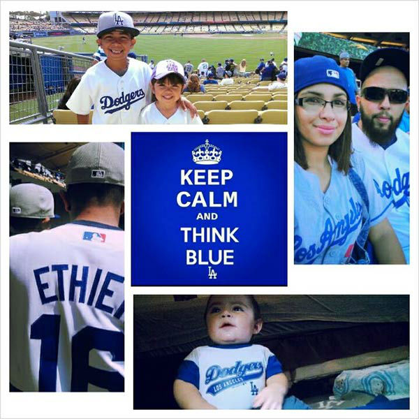 "<div class=""meta ""><span class=""caption-text "">Show us your Dodger love! Post your fan photos on our ABC7 Facebook page, and you might be featured on-air. You can also send us your photos on Twitter or Instagram with #abc7dodgers. LET'S GO DODGERS! (KABC Photo / Alicia Ortega)</span></div>"