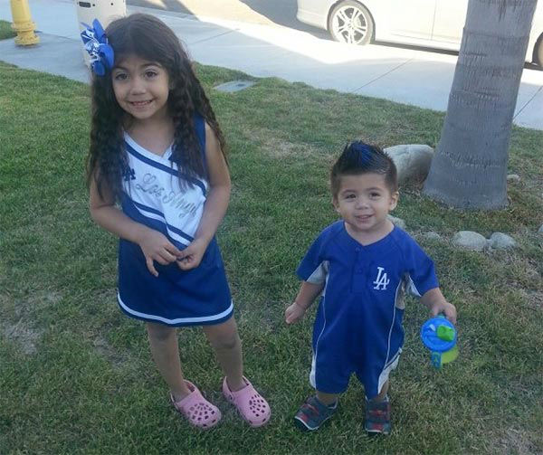 "<div class=""meta ""><span class=""caption-text "">Show us your Dodger love! Post your fan photos on our ABC7 Facebook page, and you might be featured on-air. You can also send us your photos on Twitter or Instagram with #abc7dodgers. LET'S GO DODGERS! (KABC Photo / Ashley Martinez)</span></div>"