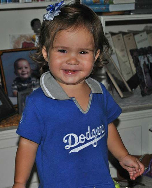 Show us your Dodger love! Post your fan photos on our ABC7 Facebook page, and you might be featured on-air. You can also send us your photos on Twitter or Instagram with #abc7dodgers. LET&#39;S GO DODGERS! <span class=meta>(KABC Photo &#47; Callie Nolasco Beltran)</span>