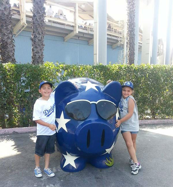 Show us your Dodger love! Post your fan photos on our ABC7 Facebook page, and you might be featured on-air. You can also send us your photos on Twitter or Instagram with #abc7dodgers. LET&#39;S GO DODGERS! <span class=meta>(KABC Photo &#47; Dorothy Erskine)</span>