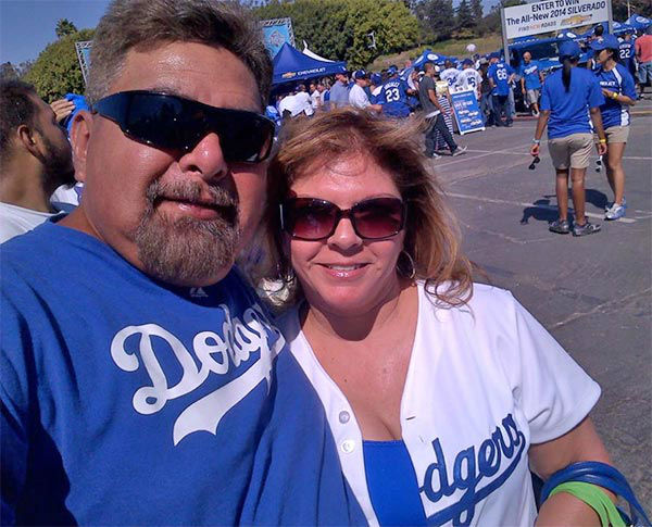 Show us your Dodger love! Post your fan photos on our ABC7 Facebook page, and you might be featured on-air. You can also send us your photos on Twitter or Instagram with #abc7dodgers. LET&#39;S GO DODGERS! <span class=meta>(KABC Photo &#47; Eileen Saldivar)</span>