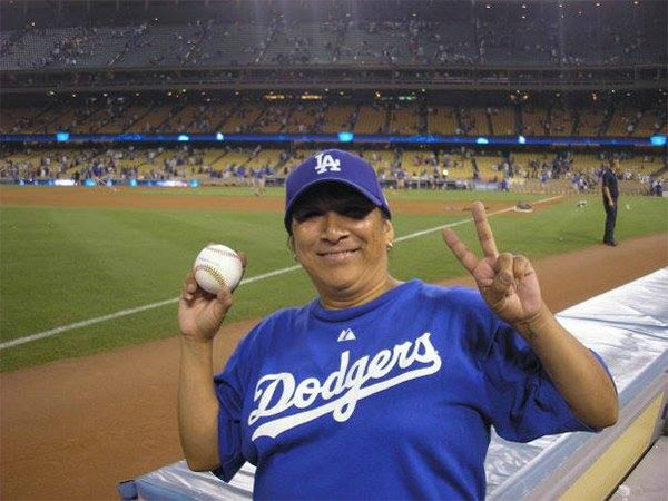Show us your Dodger love! Post your fan photos on our ABC7 Facebook page, and you might be featured on-air. You can also send us your photos on Twitter or Instagram with #abc7dodgers. LET&#39;S GO DODGERS! <span class=meta>(KABC Photo &#47; Estrada Teresa)</span>