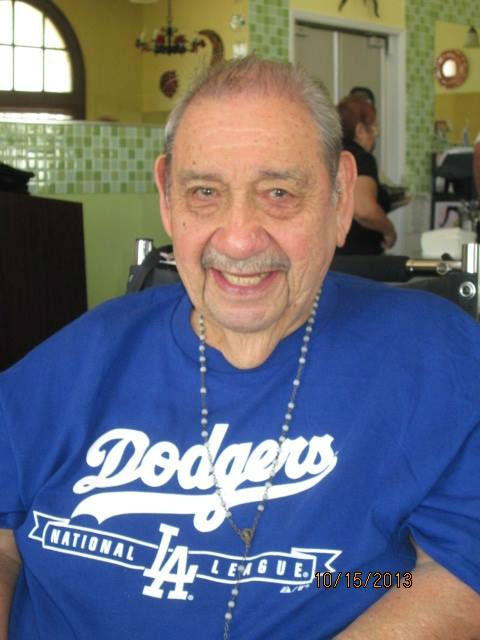 Show us your Dodger love! Post your fan photos on our ABC7 Facebook page, and you might be featured on-air. You can also send us your photos on Twitter or Instagram with #abc7dodgers. LET&#39;S GO DODGERS! <span class=meta>(KABC Photo &#47; Georgina Reyes)</span>