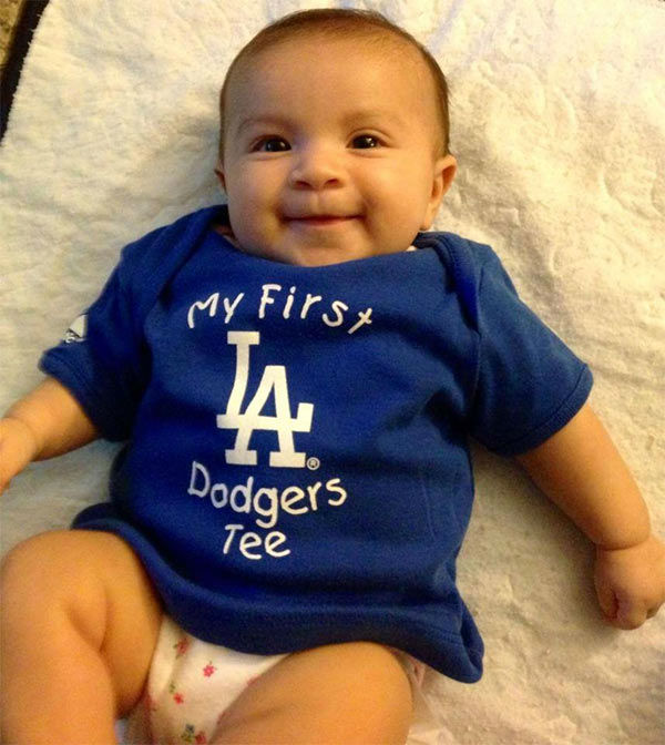 Show us your Dodger love! Post your fan photos on our ABC7 Facebook page, and you might be featured on-air. You can also send us your photos on Twitter or Instagram with #abc7dodgers. LET&#39;S GO DODGERS! <span class=meta>(KABC Photo &#47; Gil Melgoza)</span>