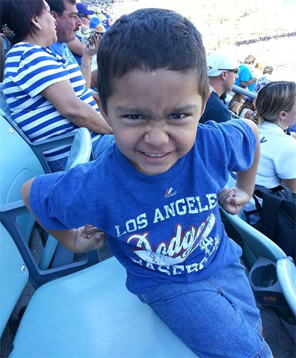 "<div class=""meta ""><span class=""caption-text "">Show us your Dodger love! Post your fan photos on our ABC7 Facebook page, and you might be featured on-air. You can also send us your photos on Twitter or Instagram with #abc7dodgers. LET'S GO DODGERS! (KABC Photo / Ignacio Nacho Iggy Ruiz)</span></div>"