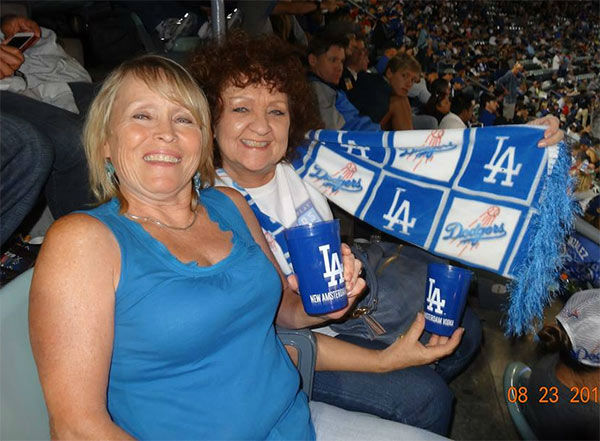 Show us your Dodger love! Post your fan photos on our ABC7 Facebook page, and you might be featured on-air. You can also send us your photos on Twitter or Instagram with #abc7dodgers. LET&#39;S GO DODGERS! <span class=meta>(KABC Photo &#47; Jodine Setter)</span>