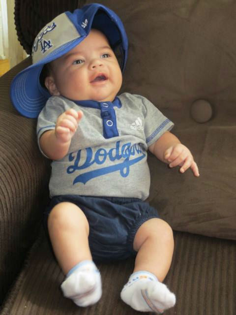 Show us your Dodger love! Post your fan photos on our ABC7 Facebook page, and you might be featured on-air. You can also send us your photos on Twitter or Instagram with #abc7dodgers. LET&#39;S GO DODGERS! <span class=meta>(KABC Photo &#47; Kathy Jammal Macaraeg)</span>