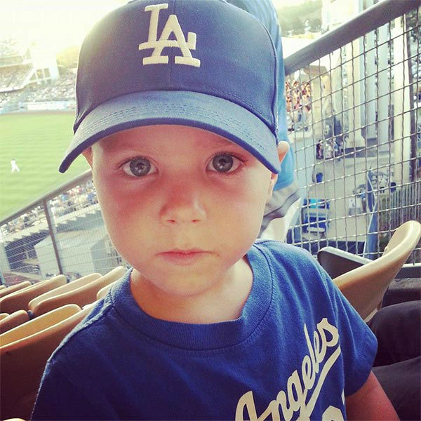 "<div class=""meta ""><span class=""caption-text "">Show us your Dodger love! Post your fan photos on our ABC7 Facebook page, and you might be featured on-air. You can also send us your photos on Twitter or Instagram with #abc7dodgers. LET'S GO DODGERS! (KABC Photo / Laura Leach)</span></div>"