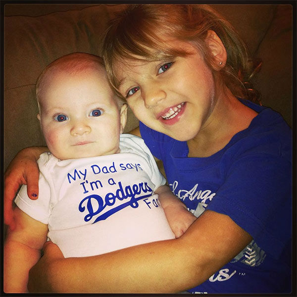 Show us your Dodger love! Post your fan photos on our ABC7 Facebook page, and you might be featured on-air. You can also send us your photos on Twitter or Instagram with #abc7dodgers. LET&#39;S GO DODGERS! <span class=meta>(KABC Photo &#47; Lauren Murphy Hodge)</span>