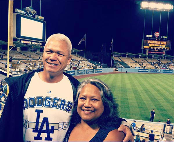 Show us your Dodger love! Post your fan photos on our ABC7 Facebook page, and you might be featured on-air. You can also send us your photos on Twitter or Instagram with #abc7dodgers. LET&#39;S GO DODGERS! <span class=meta>(KABC Photo &#47; Moani Pilon-Lima)</span>