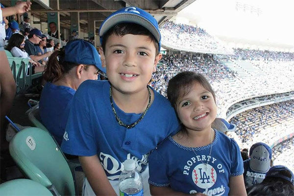 Show us your Dodger love! Post your fan photos on our ABC7 Facebook page, and you might be featured on-air. You can also send us your photos on Twitter or Instagram with #abc7dodgers. LET&#39;S GO DODGERS! <span class=meta>(KABC Photo &#47; Rachel Duran)</span>