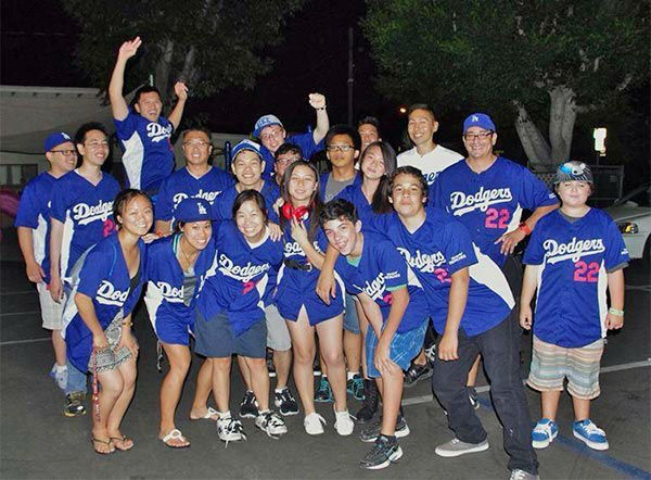 Show us your Dodger love! Post your fan photos on our ABC7 Facebook page, and you might be featured on-air. You can also send us your photos on Twitter or Instagram with #abc7dodgers. LET&#39;S GO DODGERS! <span class=meta>(KABC Photo &#47; Sheila Gagaliano Delgadillo)</span>