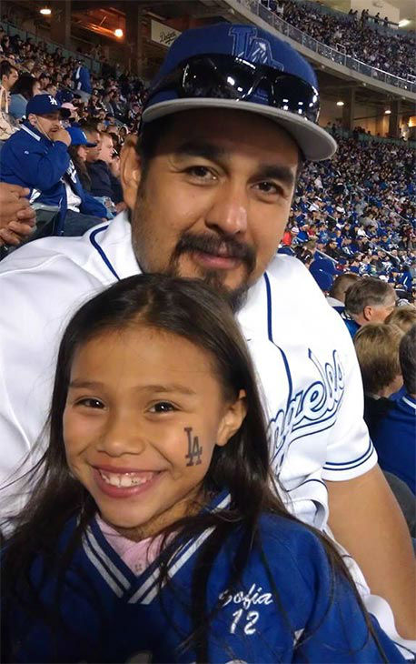 Show us your Dodger love! Post your fan photos on our ABC7 Facebook page, and you might be featured on-air. You can also send us your photos on Twitter or Instagram with #abc7dodgers. LET&#39;S GO DODGERS! <span class=meta>(KABC Photo &#47; Vicky Carlos Femath)</span>