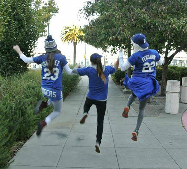 Show us your Dodger love! Post your fan photos on our ABC7 Facebook page, and you might be featured on-air. You can also send us your photos on Twitter or Instagram with #abc7dodgers. LET&#39;S GO DODGERS! <span class=meta>(KABC Photo &#47; Geovana Torres)</span>