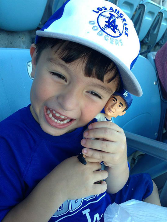 "<div class=""meta ""><span class=""caption-text "">Show us your Dodger love! Post your fan photos on our ABC7 Facebook page, and you might be featured on-air. You can also send us your photos on Twitter or Instagram with #abc7dodgers. LET'S GO DODGERS! (KABC Photo / Larry Barraza)</span></div>"