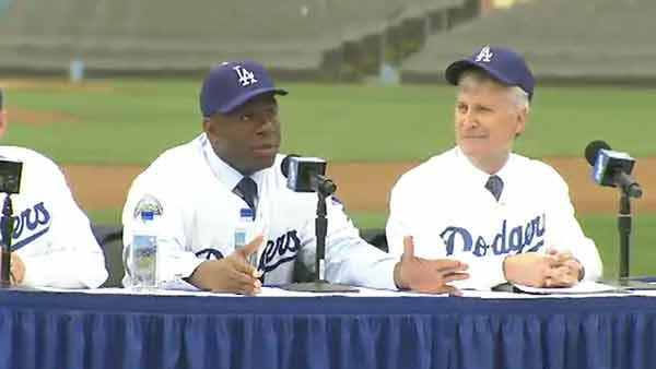 Dodger owners introduce themselves to LA