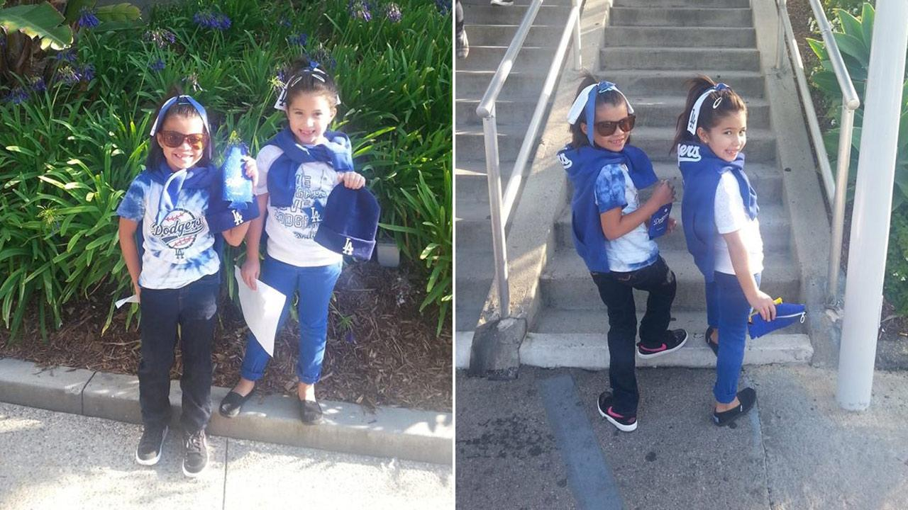 Got Dodger spirit? Post your fan photos on our ABC7 Facebook page, and you might be featured on-air. You can also send us your photos on Twitter or Instagram with #abc7dodgers. GO BLUE! <span class=meta>(Lori Greene)</span>