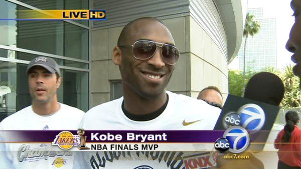 Kobe Bryant: 'This is the best win by far'