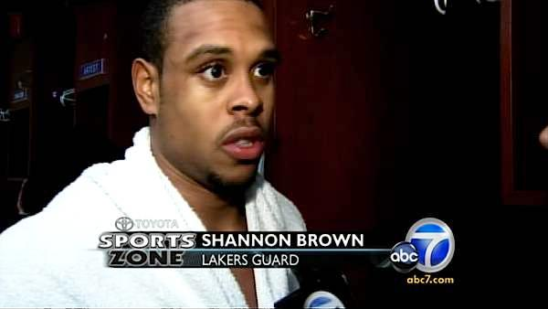 Lakers postgame interview: Shannon Brown