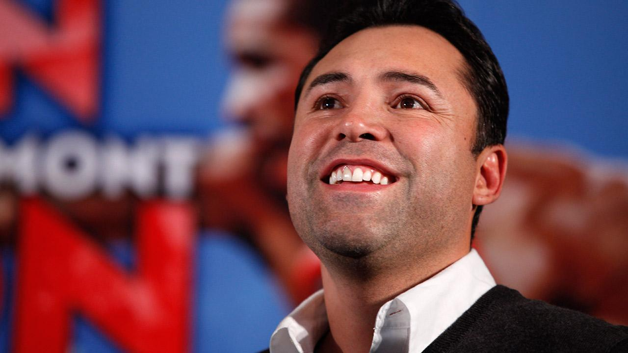 Oscar De La Hoya: The league has made it known that it wants more minorities involved, and as a proud Mexican-American, I will bring a different perspective to the NBA in general, and the Clippers in particular. <span class=meta>(Jacquelyn Martin, File)</span>