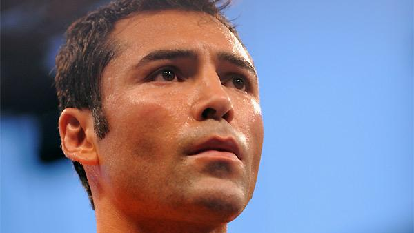 oscar de la hoya hair. Oscar De La Hoya looks on