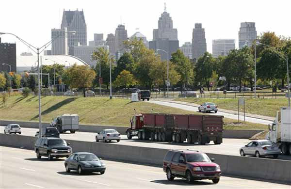 Detroit, Mich., ranked No.3 as one of the most dangerous U.S. cities, released by CQ Press&#39; 2010 City Crime Rate Ratings. <span class=meta>(AP Photo&#47; Paul Sancya)</span>