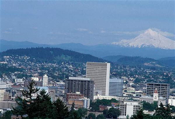 Portland, Ore. is ranked No.7 as the worst city to find a job, with the unemployed individuals per advertised job as 4.90.  <span class=meta>(AP Photo)</span>