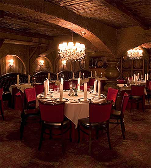 The Cellar, a French restaurant in Fullerton,...