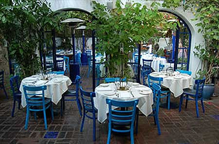 The Little Door, a Mediterranean restaurant in Los Angeles, was chosen as one of OpenTable.com's Top 50 Most Romantic Restau