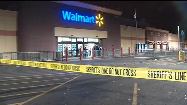 The San Leandro Wal-Mart was briefly closed on Black Friday after a shopper was shot in the parking lot.