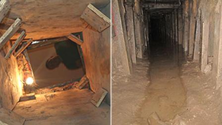 Federal authorities in California discovered a major smuggling tunnel that links warehouses in Tijuana and the Otay Mesa area of San Diego.