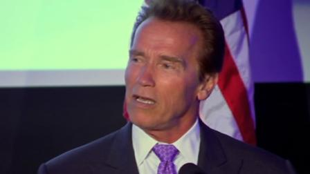 Arnold Schwarzenegger appears in an undated file photo.