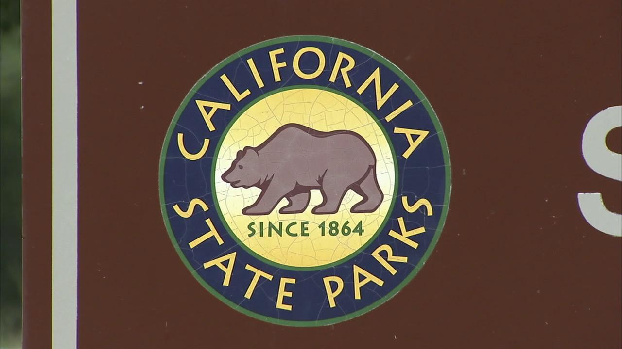 A California State Parks sign is seen in this file photo.