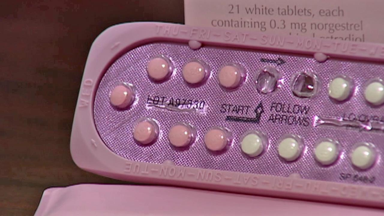 Birth control pills are shown in this undated file photo.