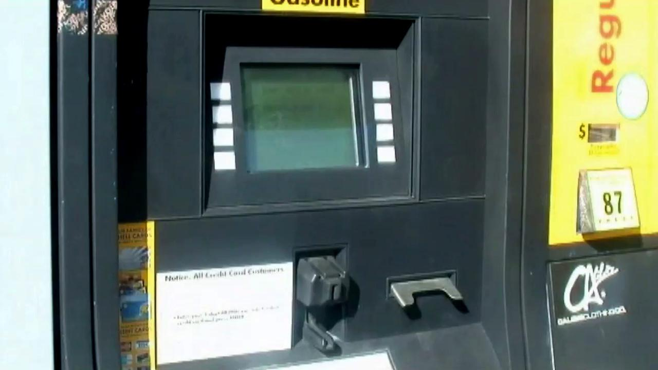 Police said about 900 gallons of gas worth thousands of dollars were stolen from a Shell station in the city of Roseville, just northeast of Sacramento, on Thursday, Sept. 27, 2012.