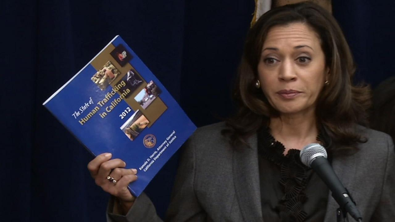 According to a report by Attorney General Kamala Harris, human trafficking for sex and forced labor is on the rise.