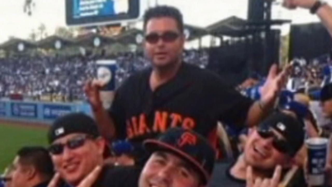 San Francisco Giants fan Bryan Stow is shown in this photo. The paramedic from Santa Cruz was severely beaten at Dodger Stadium after a game in 2011.