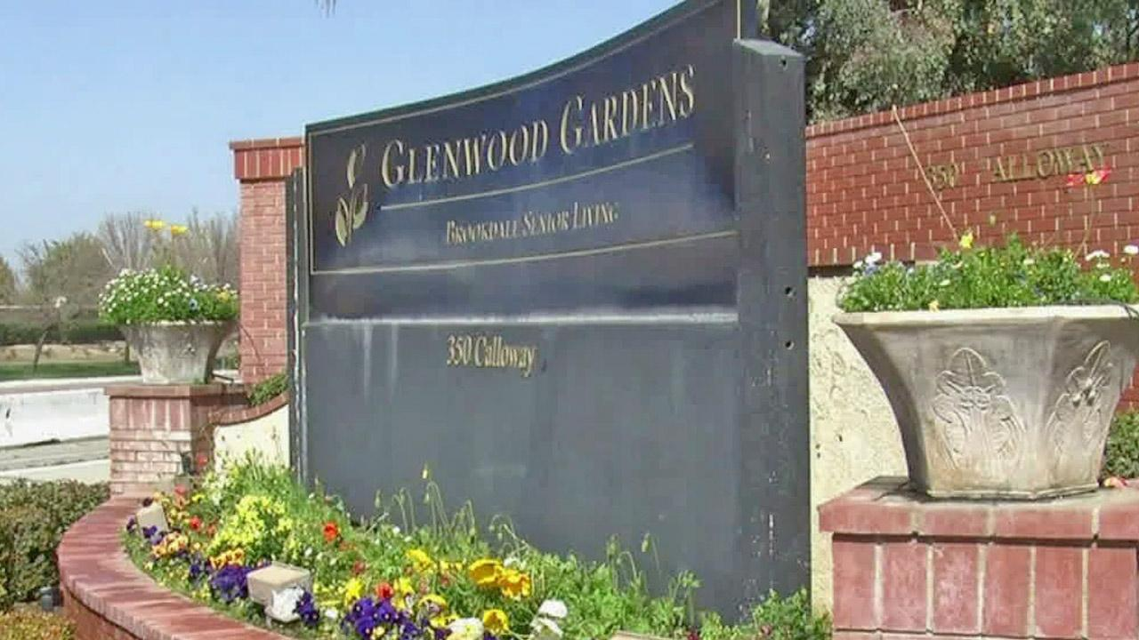 The Glenwood Gardens, a retirement facility in Bakersfield, Calif., is shown in this undated file photo.