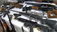 Guns are shown in this undated file photo.
