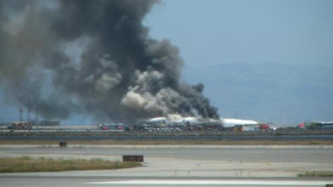 The Federal Aviation Administration says an Asiana Airlines plane crashed while landing at San Francisco International Airport on Saturday, July 6, 2013.Dave Schonbach
